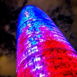 Barcelona, ES - Torre Agbar