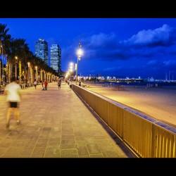 Barcelona, ES - Running hour