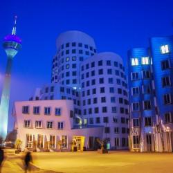 Düsseldorf, DE - Medienhafen