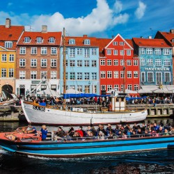 Copenhagen, DK - Nyhavn