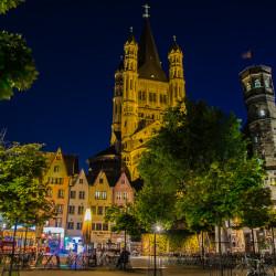 Köln, DE - Fischmarkt