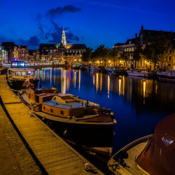 Haarlem, NL - Fleet of the Spaarne