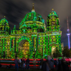 Berlin, DE - Berliner Dom & Fernsehturm