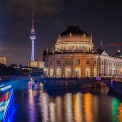 Berlin, DE - Boat at the Bode