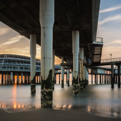 The Hague, NL - Under the pier