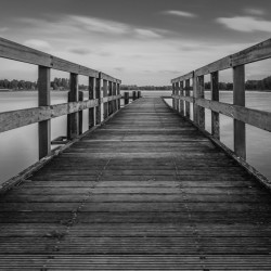 Noord-Scharwoude, NL - The jetty