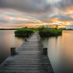 Landsmeer, NL - The jetty