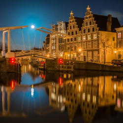 Haarlem, NL - Gravenstenenbrug
