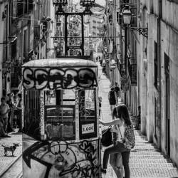 Lisbon, PT - Ascensor de Bica