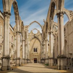 Lisbon, PT - Convento do Carmo