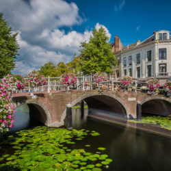Leiden, NL - Nun bridge