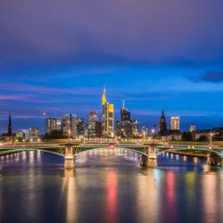 Frankfurt am Main, DE - Flößerbrücke