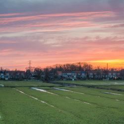 Sunrise at the Wilmkebreekpolder
