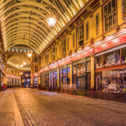 London, GB - Leadenhall Market