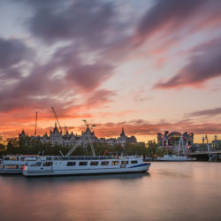 London, GB - Sunset adventure