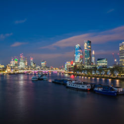 London, GB - Skyline
