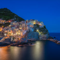 Manarola, IT - Good start at the Cinque Terre