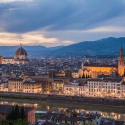 Florence, IT - Michelangelo's view