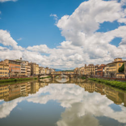 Florence, IT - Arno mirror