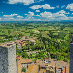 San Gimignano, IT - Vista Grossa